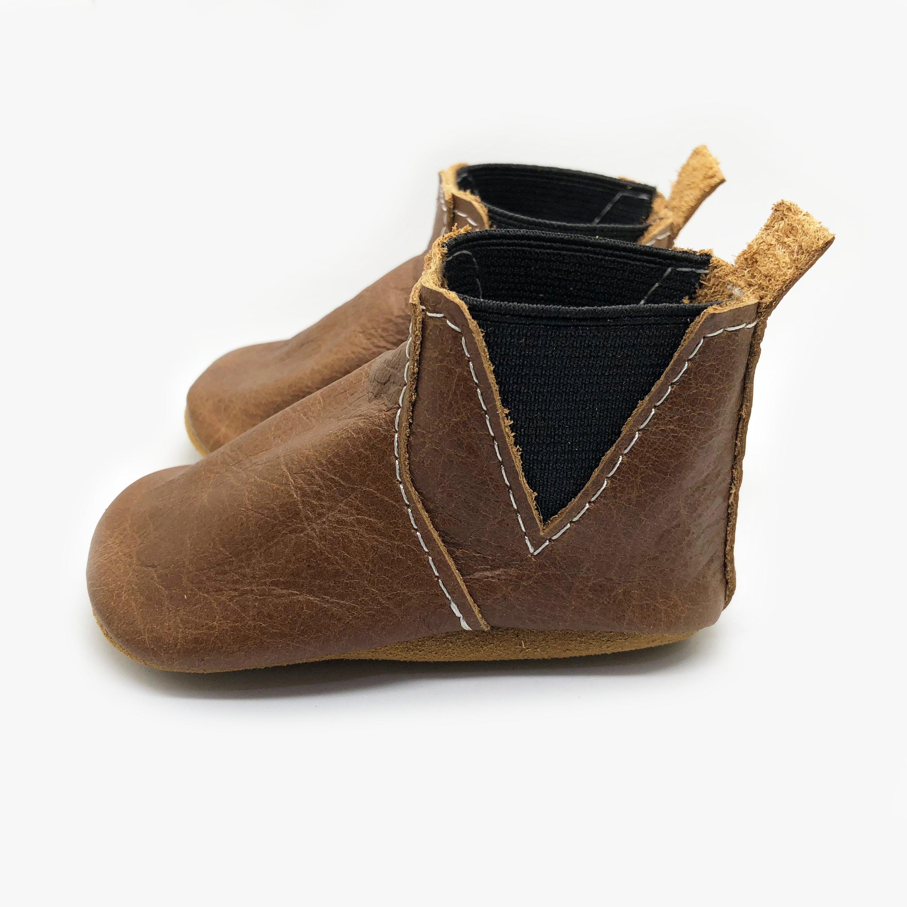 Brandy Chelsea Boots