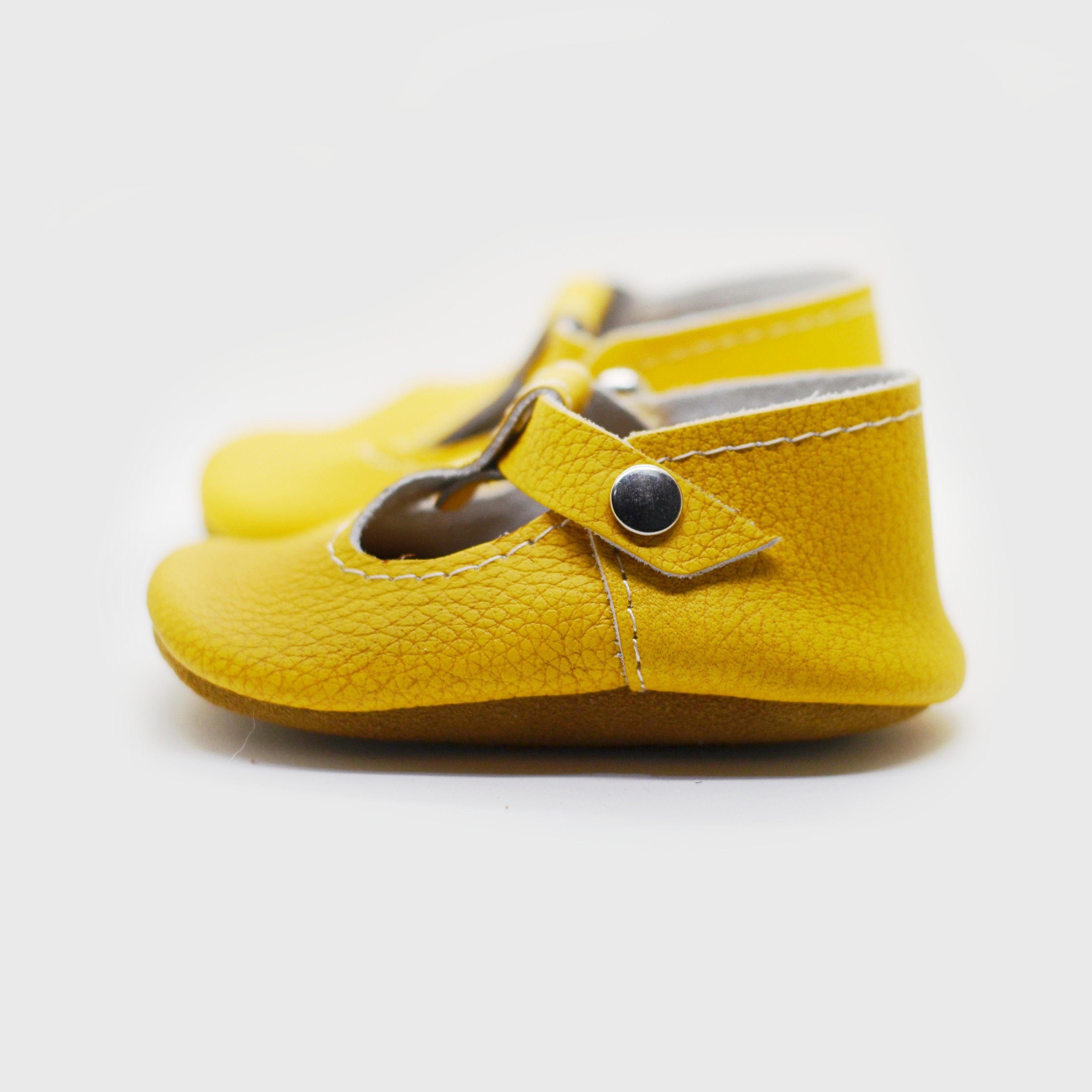 Mustard T-Strap