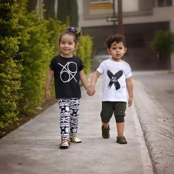 XOXO Black T-Shirt