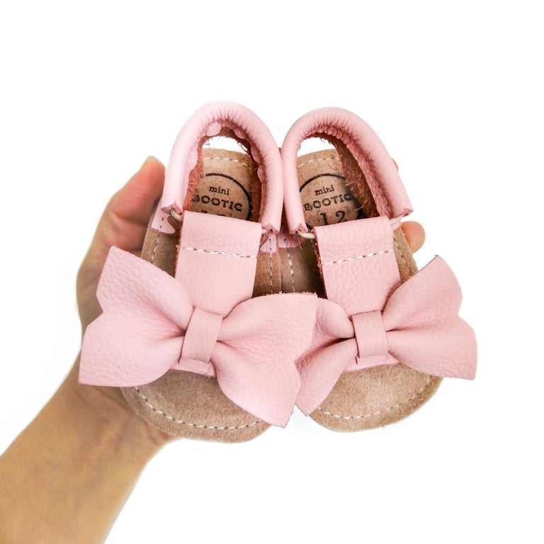 Pink Bow Sandal